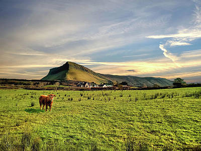 Photograph - Benbulben From Henry's Bar by John Carver
