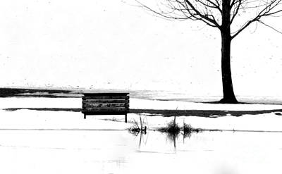 Bench 10 Art Print by Julie Lueders