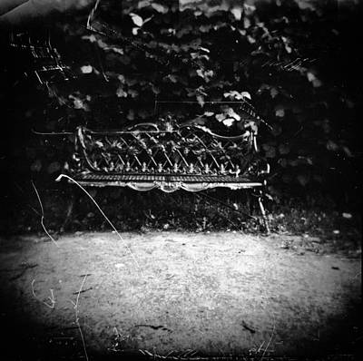 Photograph - Bench by Andrey  Godyaykin