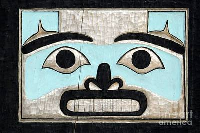 Photograph - Bench Face by Frank Townsley