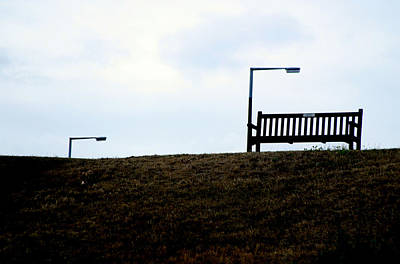 Photograph - Bench For 4 by Jez C Self