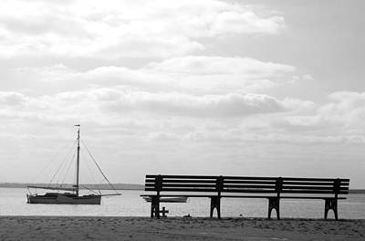 Photograph - Bench For Nine by Jez C Self