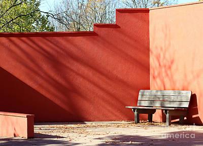 Photograph - Bench by Karen Adams