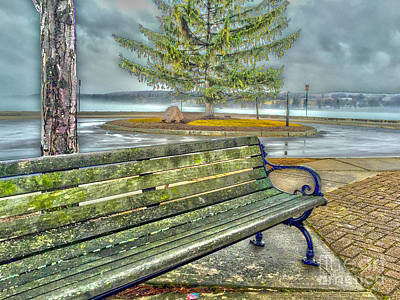 Photograph - Benched by William Norton