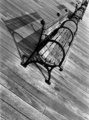 Wall Art - Photograph - Benches by Mary McGrath