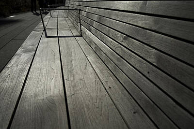 Photograph - Bench's Perspective by Joanna Madloch