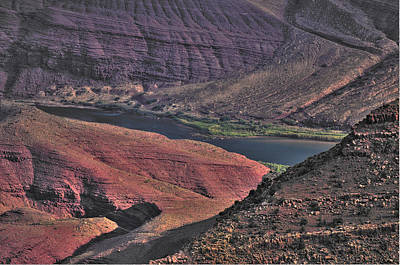 Photograph - Bend In The Colorado River by Don Wolf