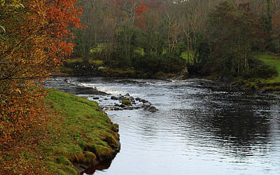 David Bowie Royalty Free Images - Bend in the River Donegal Royalty-Free Image by Eddie Barron