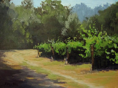 Painting - Bend In The Road by Karen Ilari