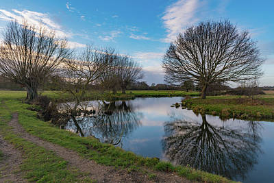 Photograph - Bend In The Stour by Gary Eason