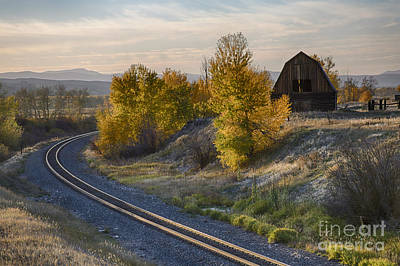Photograph - Bend In The Tracks by Idaho Scenic Images Linda Lantzy