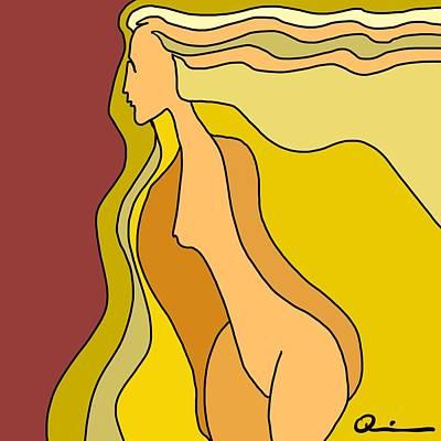 Digital Art - Bending by Jeff Quiros