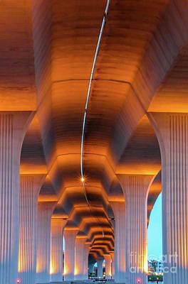 St. Lucie River Photograph - Bendy Bridge by Tom Claud