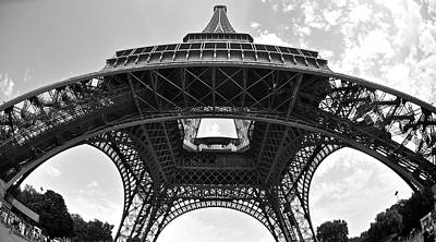 Photograph - Bendy Eiffel  by Matt MacMillan