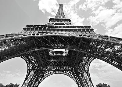 Photograph - Bendy Eiffel Tower by Matt MacMillan