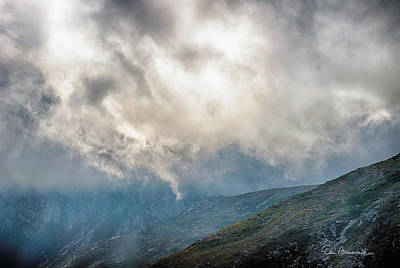 Dan Beauvais Royalty-Free and Rights-Managed Images - Beneath Clouds of Mount Washington 7496 by Dan Beauvais