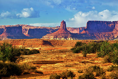 Photograph - Beneath The Mesa by Greg Norrell