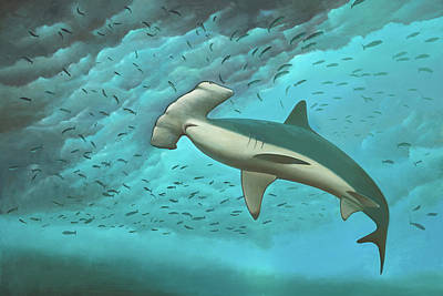Painting - Beneath The Waves by Cliff Wassmann