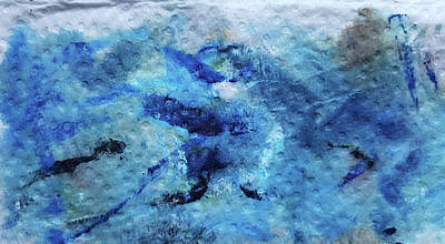 Beneath The Waves Art Print