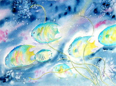 Painting - Beneath The Waves by Diane Kirk