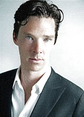 Benedict Cumberbatch Art Print Art Print by Best Actors