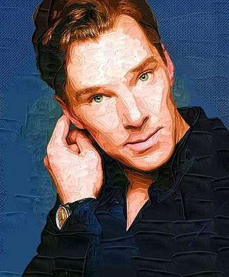 Benedict Cumberbatch Poster Art Print by Best Actors