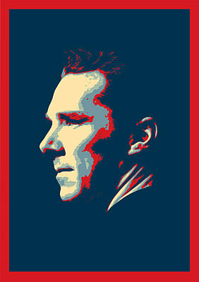 Benedict Cumberbatch - Sherlock Holmes Art Print by Semih Yurdabak