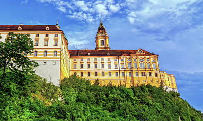 Photograph - Benedictine Abbey, Melk, Austria by Elenarts - Elena Duvernay photo