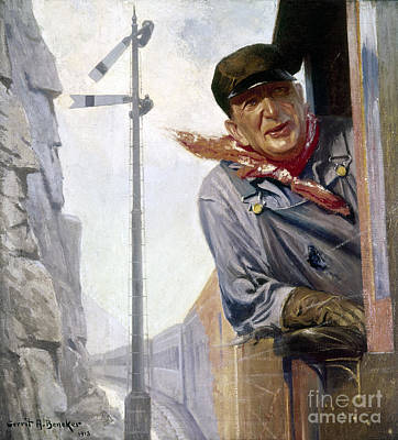 Beneker: The Engineer, 1913 Art Print by Granger