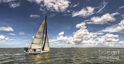 Sail Photograph - Beneteau First 40.7 by Dustin K Ryan