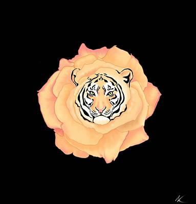 Bengal Blossom Art Print