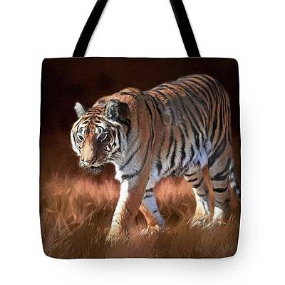 Photograph - Bengal On The Prowl-tote by Donna Kennedy