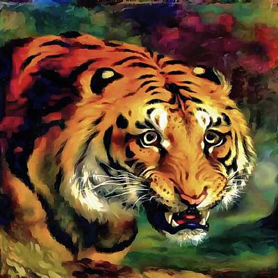 Painting - Bengal Tiger by Tracey Harrington-Simpson