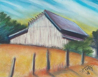 Painting - Benito Barn by Michael Foltz
