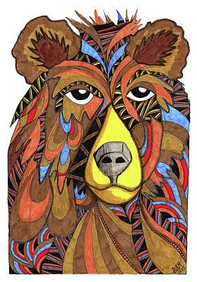 Benjamin Bear Art Print