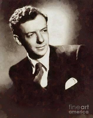 Benjamin Britten, Composer By Sarah Kirk Art Print