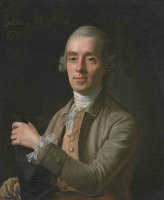 Painting - Benjamin Cole by Nathaniel Hone