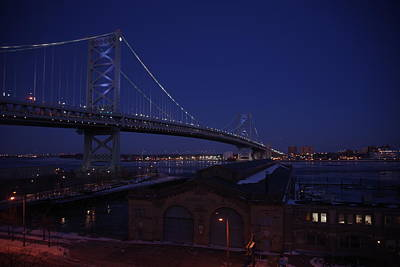 Photograph - Benjamin Franklin Bridge by Greg Graham