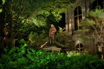 Photograph - Benjamin Franklin Statue - Boston by Joann Vitali