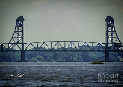 Photograph - Benjamin Harrison Memorial Draw Bridge by Melissa Messick