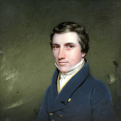 Painting - Benjamin Moore Mcvickar by Charles Cromwell Ingham