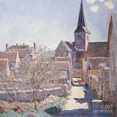 Bucks Painting - Bennecourt by Celestial Images