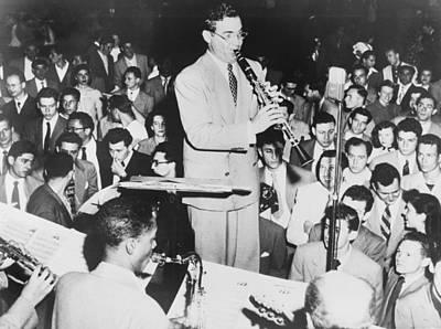 Benny Goodman 1909-86, Playing Art Print by Everett