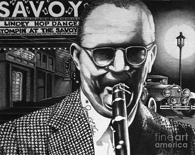 Jazz Painting - Benny Goodman by JL Vaden