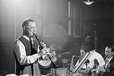 Crosby Photograph - Benny Goodman Orchestra  by The Harrington Collection
