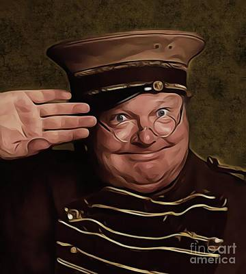 Musicians Royalty-Free and Rights-Managed Images - Benny Hill, Legend by Mary Bassett
