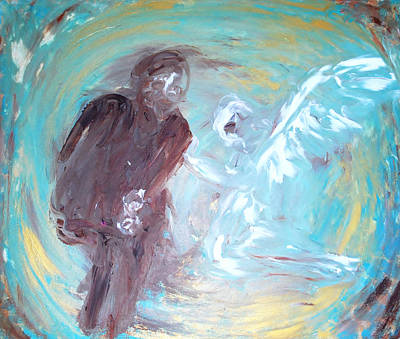Painting - Ben's Angel 7 by Dorothy Berry-Lound