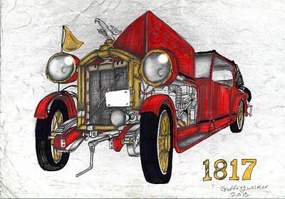 Ben's Car Art Print