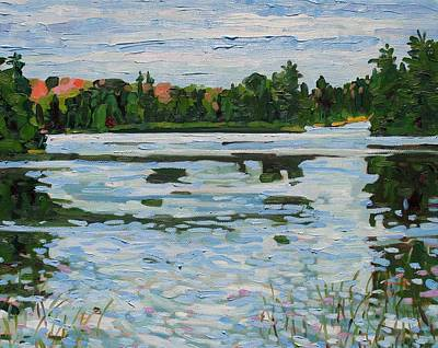 Painting - Benson Lake by Phil Chadwick
