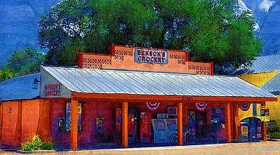 Photograph - Benson's Grocery Store In Bonita Springs  by Ginger Wakem